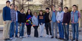 First group photo at UTSA!