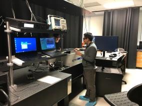 Raj using the fs laser