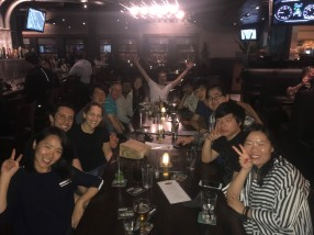 Gyu's Going Away Dinner May 2017