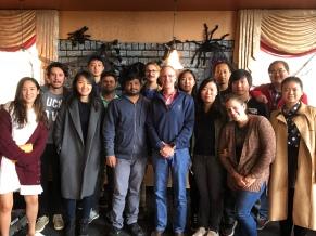 Naresh's Goodbye Lunch Oct 2017