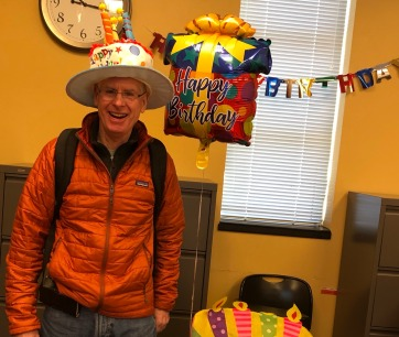 Celebrating another year with Dr. Schanze! (2019)