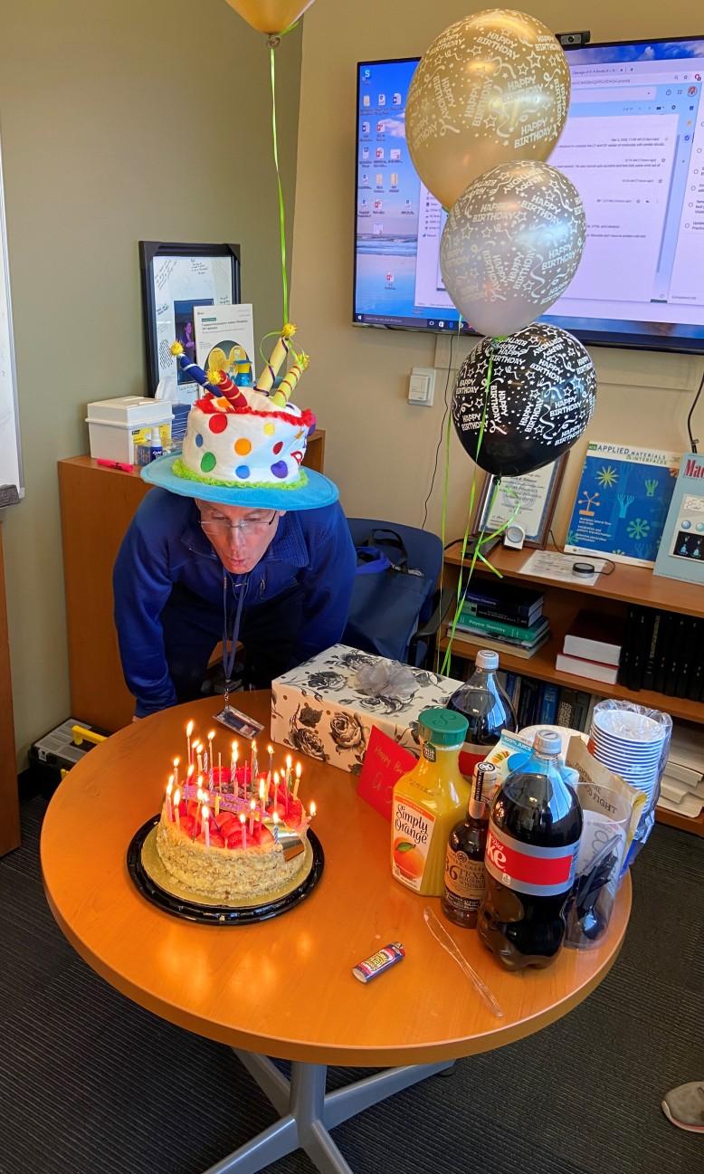 Dr. Schanze Birthday Party